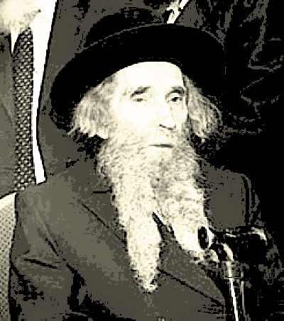 Rabbi Aharon Leib Shteinman B & W