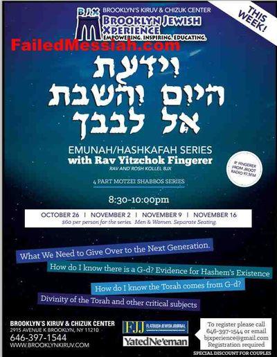 Brooklyn Jewish Xperience Anti-Footsteps Program
