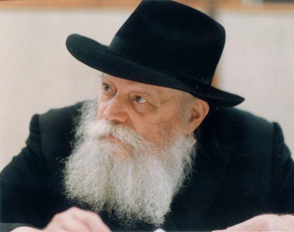 Rebbe looks left