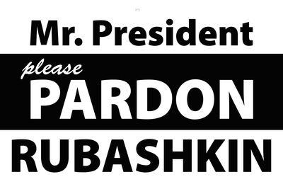 Mr President Please Pardon Rubashkin sign Crown Heights 10-25-2013