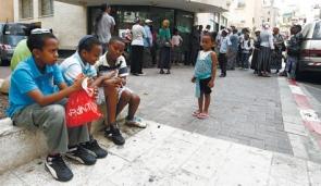 Ethiopian Grade School Kids Petach Tikva 9-5-11