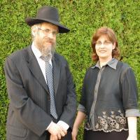 Rabbi Avraham & Shifra Feigelstock