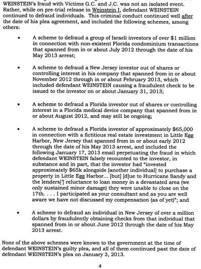 Eliyahu Weinstein's other frauds 11-21-2013