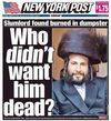NY Post Menachem Max Stark cover 1-5-2014