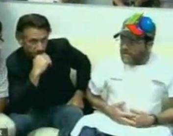 Sean Penn and Jacob Ostreicher Bolivia 12-12-2012
