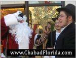 Chabad Florida Tefillin Santa closeup 12-2013