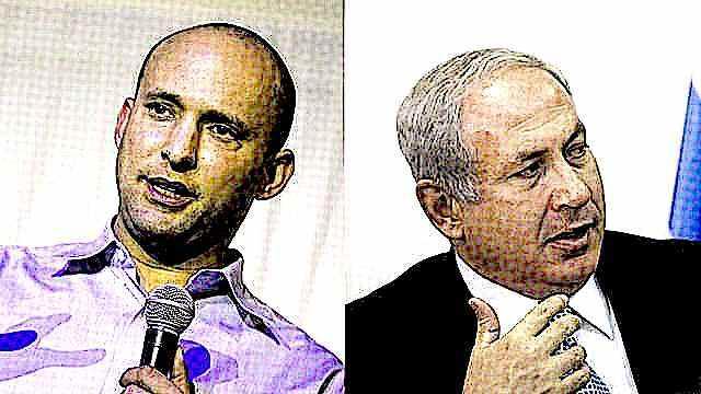 Naftali Bennett and Benjamin Netanyahu