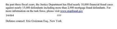 Weinstein, Eliyahu Sentencing PR Page 3 2-25-2014