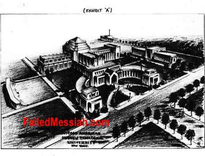 American Hebrew University (Proposed) Drawing 1946