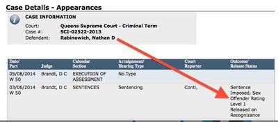 Rabbi Nathan David (Nosson Dovid) Rabinowich sentencing 3-6-2014 2