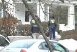 FBI raiding a property owned by Shalom Lamm in Bloomingburg NY 3-13-2014