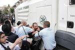 Haredi arrest riot anti-draft 4-10-2014 Jerusalem