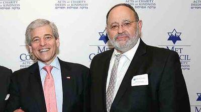 William E Rapfogel and Rabbi David Cohen