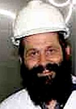 Sholom Rubashkin hard hat smile
