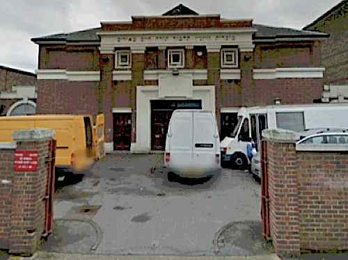 Talmud Torah Chaim Meirim Wiznitz School in Lampard Road, Stamford Hill