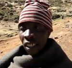 African tribesman in the Kingdom of Lesotho tricked into saying Yechi in 2010