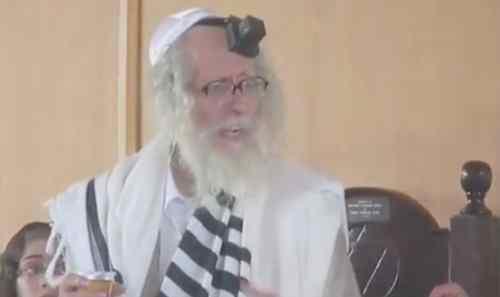 Rabbi Eliezer Berland Purim Zimbabwe 3-2014