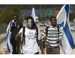 Ethiopian Jews protest racism in Israel 2-2012