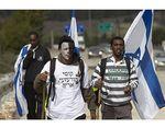 Ethiopian Jews protest racism in Israel 2-2012