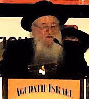 Novominsker Rebbe Agudah Convention Opening 12-2012