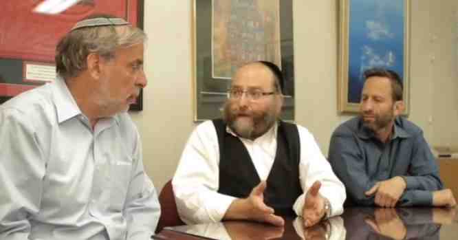 Dov Hikind, Yanky Daskal, Motty Katz 6-2014