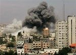 Gaza bomb strike