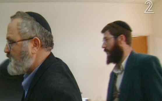 Avihai Weinstein, right, and Eli Cohen, left