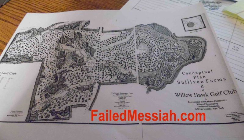 Sullivan Farms and Golf Club map watermarked
