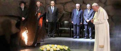 Pope Francis at Yad Vashem 5-25-2014