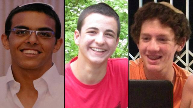 3 kidnapped teen boys Israel 6-14-2014