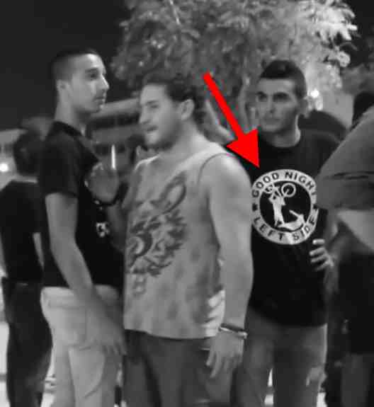 Video Violent Israeli Right Wing Racist Thugs Spotted