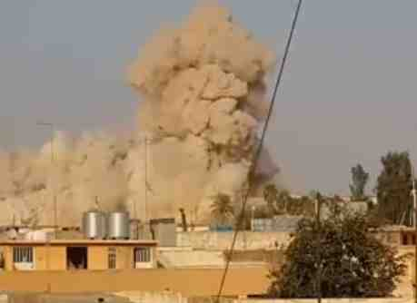 ISIS blows up tomb of Jonah the Prophet and the mosque above it in Iraq 7-23-2014