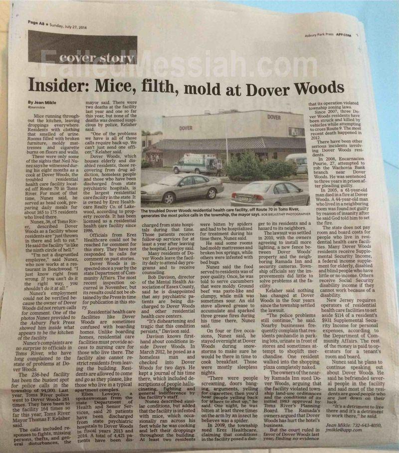Dover Woods healthcare 7-27-2014 APP