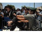 Haredim Riot Jaffa 6-14010