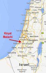 Kiryat Malakhi map