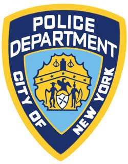NYPD logo shield