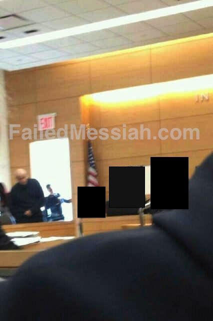 Picture taken of Weberman alleged victim and BF in court 11-29-2012