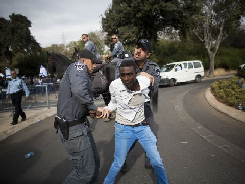 Israeli police arrest Ethiopian Jew
