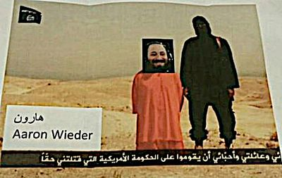 Aron Wieder ISIS moc beheading threat 12-18-2014