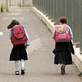 Haredi girls school backpacks