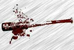 Bloody baseball bat 2