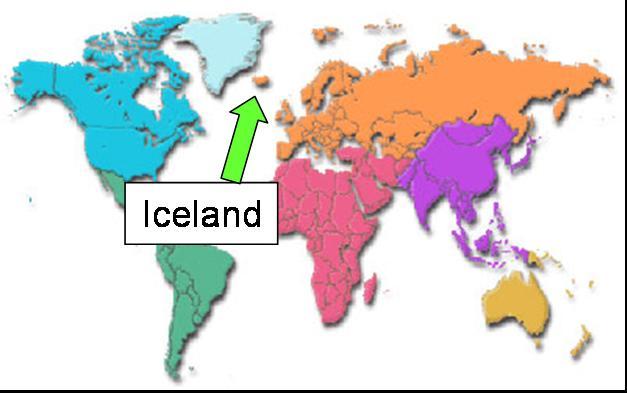 World Map Iceland Iceland.world.map World Map Iceland
