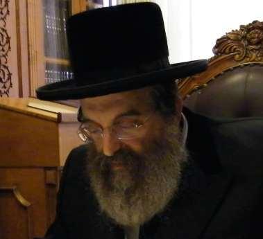 Sadigura Rebbe Rabbi Yisroel Moshe Friedman