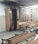 Chabad House Bnei Brak Arson vandalism 7-26-2015