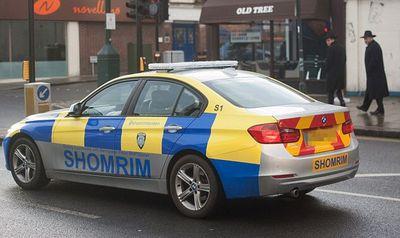 London Shomrim patrol car