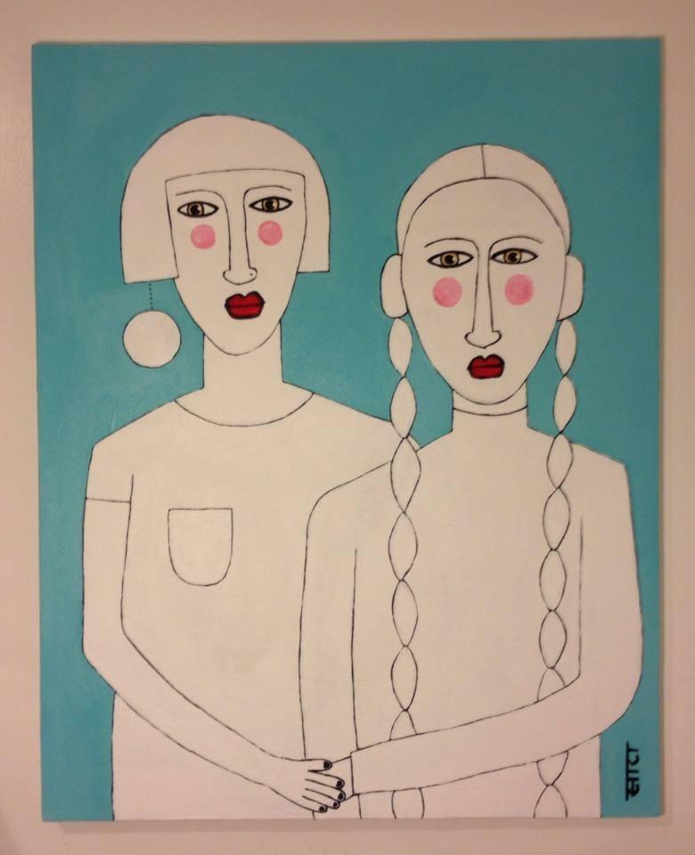 Sara Erenthal painting