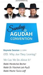 Agudath Israel Keynote session 10-27-2015