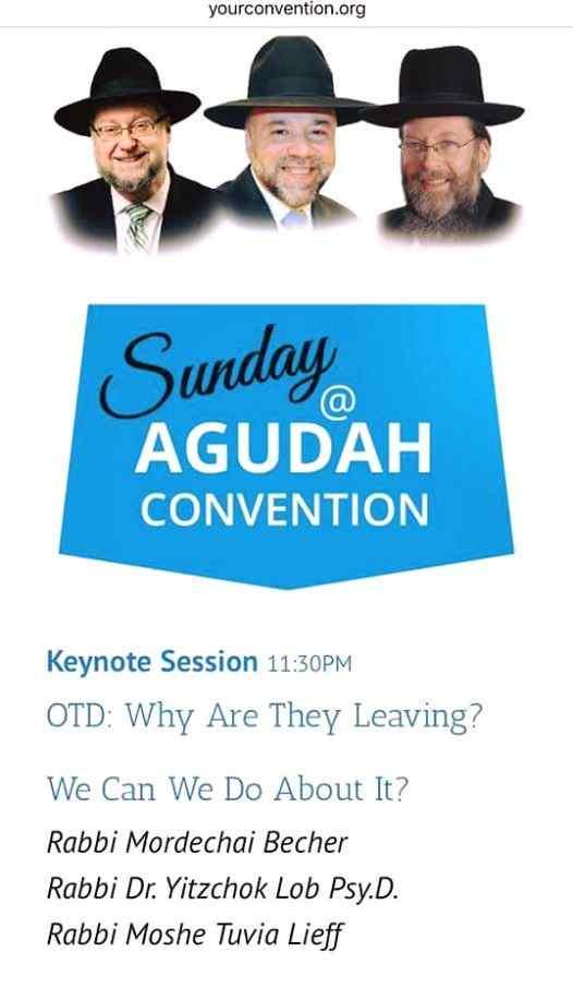 Agudath Israel Keynote session 10-27-2015