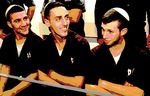 Shlomo and Nachman Twito, Yitzhak Gabai, suspects in arson of Jewish-Aran school in Jerusalem 12-2014