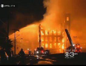 Lichtenstein Warehouse Fire Philadelphia 4-2012